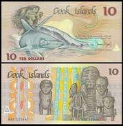 Cook Islands 10 Dollars 1987 UNC - Cook Islands