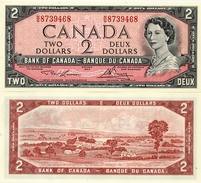 CANADA       2 Dollars       P-76d       1954 (1973)       UNC - Canada