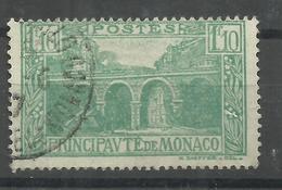 """Monaco 99 """" 1,10 Fr.-Freimarke Mit Abbild Einer Brücke"""" Gestempelt. Tip-top Mi.:5,50 € - Monaco"""