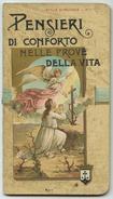 Stille Di Rugiada N.1 (1896) - Santa Lega Eucaristica - Pensieri Di Conforto - RARO - Images Religieuses