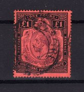 NYASSALAND Nyasaland 1913 Yv 23 Obl. Cote 200 - Nyasaland (1907-1953)
