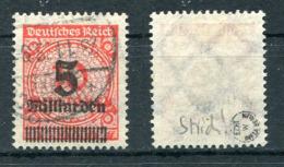 Deutsches Reich Michel-Nr. 334P Gestempelt - Geprüft