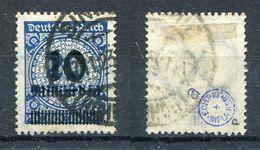 Deutsches Reich Michel-Nr. 335P Gestempelt - Geprüft