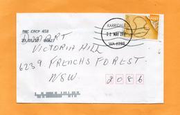 MY1053B KARRIDALE WA 6288 FULL CIRCULAR POSTMARK Dated 22 MAY 2017 Complete Cover Australia MAP Stamp