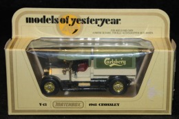 MATCHBOX - Models Of Yesteryear - 1918 CROSSLEY - Y-13 - Altre Collezioni