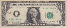 BILLETE DE ESTADOS UNIDOS DE 1 DOLLAR DEL AÑO 1963 LETRA B NEW YORK  (BANK NOTE) STAR - REPLACEMENT - Billetes De La Reserva Federal (1928-...)