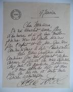 Cécile Sorel, Lettre Autographe - Autographes