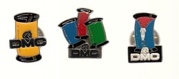 3 Pin´s Differents -   DMC - Marche