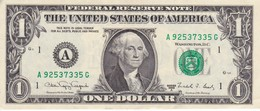 BILLETE DE ESTADOS UNIDOS DE 1 DOLLAR DEL AÑO 1988 LETRA A  BOSTON  (BANK NOTE) - Billetes De La Reserva Federal (1928-...)