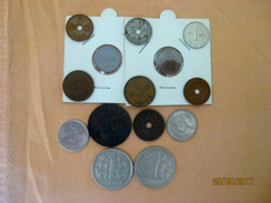 Lot Finland 9 Pièces - Monnaies & Billets