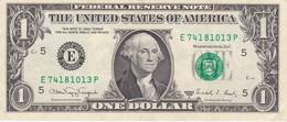 BILLETE DE ESTADOS UNIDOS DE 1 DOLLAR DEL AÑO 1988 LETRA E  RICHMOND  (BANK NOTE) - Billetes De La Reserva Federal (1928-...)