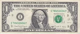 BILLETE DE ESTADOS UNIDOS DE 1 DOLLAR DEL AÑO 1988 LETRA I  MINNEAPOLIS   (BANK NOTE) - Federal Reserve Notes (1928-...)