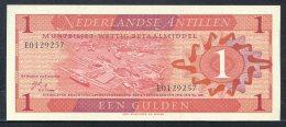 443-Antilles Néerlandaises Billet De 1 Gulden 1970 E012 Neuf - Nederlandse Antillen (...-1986)