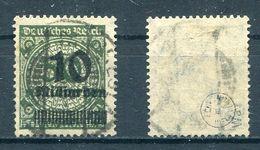Deutsches Reich Michel-Nr. 336Wa Vollstempel - Geprüft
