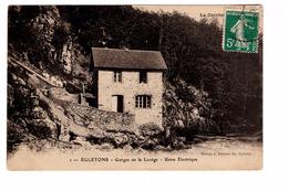 19 Egletons Egorges De La Luzege Usine Electrique Edit Bunisset à Egletons Cachet 1911 - Egletons