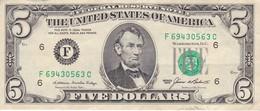 BILLETE DE ESTADOS UNIDOS DE 5 DOLLARS DEL AÑO 1985 LETRA F  ATLANTA  (BANK NOTE) - Billetes De La Reserva Federal (1928-...)