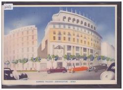 FORMAT 10x15cm - ROMA - ALBERGO PALAZZO AMBASCIATORI - TB - Bars, Hotels & Restaurants
