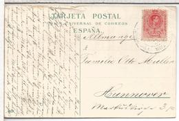ALFONSO XIII MEDALLON TARJETA POSTAL SAN JUAN DE LA RAMBLA TENERIFE CANARIAS MAT LA OROTAVA