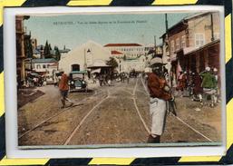 BEYROUTH . - . VUE DE SAHET-ASSOUR ET LA FONTAINE DE HAMIDI - Lebanon