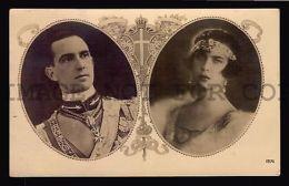 1930 Italy Prince Humbert Savoy Princess Marie Jose Of Belgium Royalty Postcard - Royal Families
