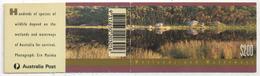 Australie - Carnet YT C1247 ** - Wetlands And Waterways - 1992