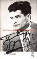Tony Poncet Opera - Autogramme