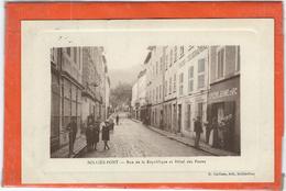 Var : Sollies Pont, Rue De La Republique Et Hotel Des Postes - Sollies Pont