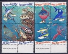 Nuova Zelanda New Zealand 1998 Vita Marina 1772-79 Mnh - New Zealand