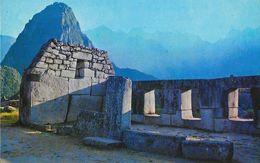 Peru (Pérou) - Machupicchu Templo De Las Tres Ventanas (Temple Of The Three Windows) - Carte Non Circulée - Pérou