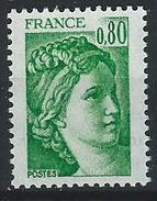 II--118-.  N° 1970c.  *   * ,  SANS BANDE DE PHOSPHORE,  TTB, Cote 2.00 €, Voir Scan Pour Detail