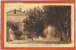 Var : Sollies Pont, Rue De La Republique - Sollies Pont