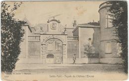 Var : Sollies Pont, Façade Du Chateau L'Enclos - Sollies Pont