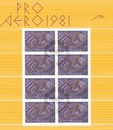 Suiza Nº A48 En Minipliego De 8 Sellos Usado