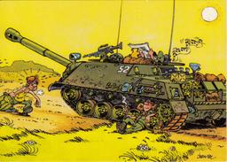 CP Militaire Humoristique Signée Jean Pol - CPM Neuve - Humor