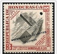 Honduras: Prova Di Colore, Color Proof, épreuve Couleur, Sede Dell'ONU, UN Building, Siège De L'ONU