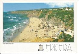 """CP - ERICEIRA ( Portugal ) """" Plage De S Sebastiao 1996 """" - Portugal"""