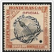 Honduras: Prova Di Colore, Color Proof, épreuve Couleur, UNESCO