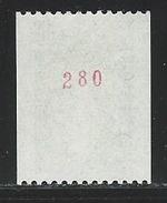 MZ--272-.  N° 1980a .  *   * ,   TTB,  ( N° Rouge 280 ) Cote 4.00 €, Voir Scan Pour Detail,