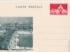 Entier Postal Special N° : 1 CP ...place De La Concorde..neuf.