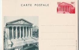 Entier Postal Special N° : 1 CP ...la Madeleine..neuf.