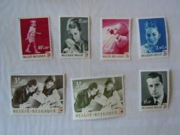 Belgique 1960 **,royauté