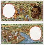 CENTRAL AFRICAN STATES   F: C.Afr.Rep.    1000 Francs     P-302Ff       (19)99     UNC - Central African States