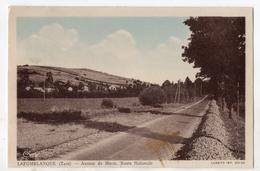 """"""" LAFOMBLANQUE ( La Font Blanque ) - Avenue De MURAT , Route Nationale """" - France"""