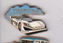 Pin's PEUGEOT 905 SIGNE ARTHUS BERTRAND - Peugeot