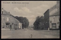 BOURG LEOPOLD - LEOPOLDSBURG -- CHAUSSEE D'ANVERS , ROUTE DU CANAL -  Niet Courant ! Plombier & Hotel St - Jean - Leopoldsburg