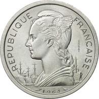 Comoros, 2 Francs, 1964, Essai, SPL, Aluminium, KM:E2 - Comores