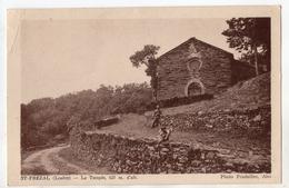 """"""" SAINT FREZAL ( De Ventalon ) - Le Temple """" Temple Protestant , Lozère - Le Pont De Montvert"""