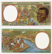 CENTRAL AFRICAN STATES   N: Equatorial Guinea    1000 Francs    P-502Ng       (20)00       UNC - Central African States