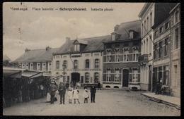 MONTAIGU - SCHERPENHEUVEL -- Isabella Plaats Met Hotel De Valk - Scherpenheuvel-Zichem