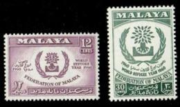 Malaya World Refugee Year 1960 Malaysia (stamp) MNH - Malaysia (1964-...)